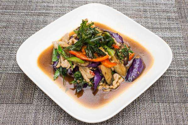 Basil Eggplant (Catering)