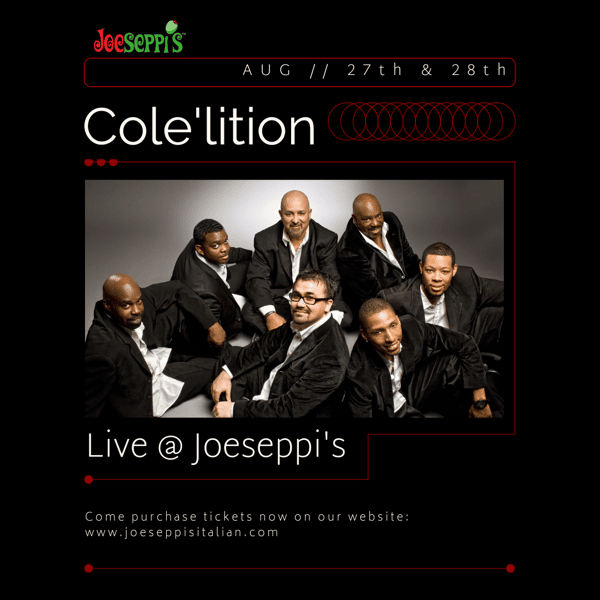Cole'lition performing live music at Joeseppi's Italian Ristorante in Tacoma, WA