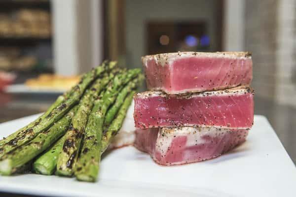 tuna and asparagus