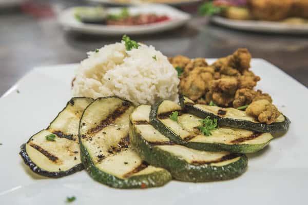 zucchini and rice