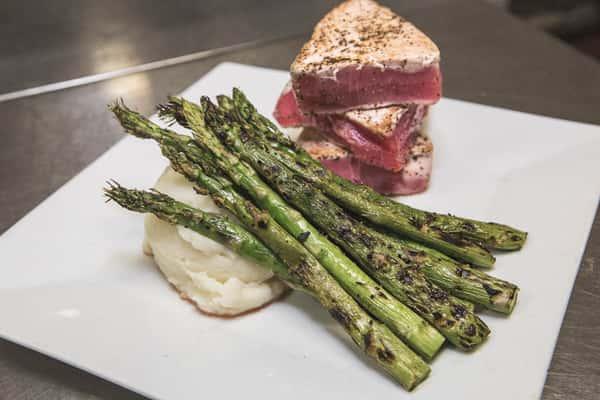 asparagus and tuna