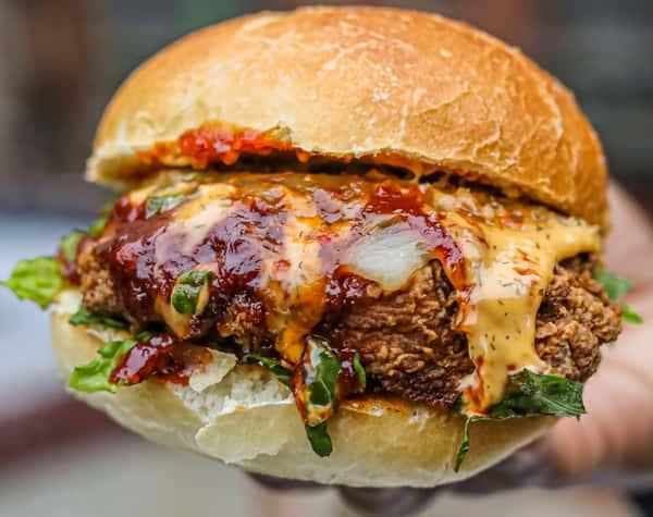BBQ Cheddar Chicken Sandwich
