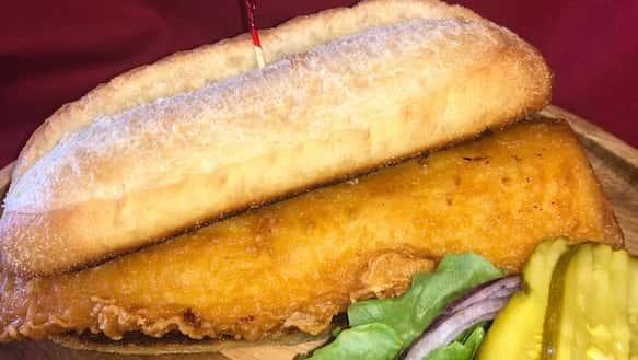 Blue River Fish Sandwich