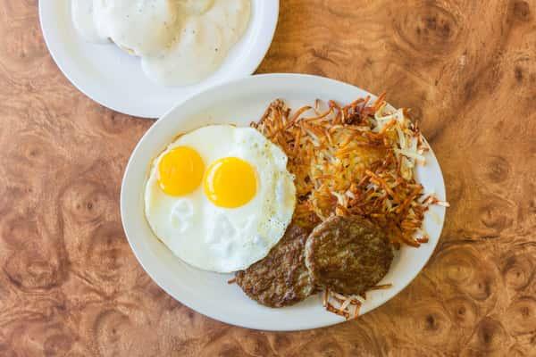 #1 - Two Egg Breakfast