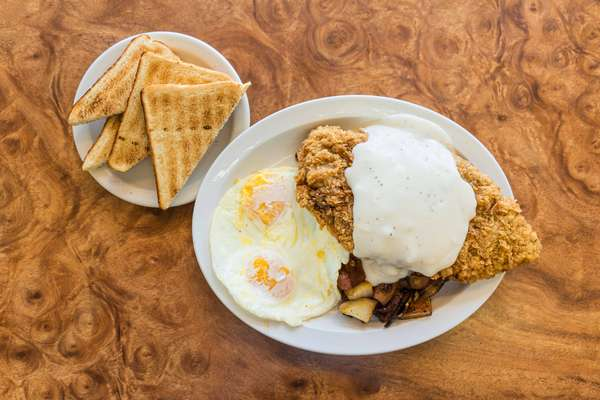 Hand Breaded Country Fried Steak