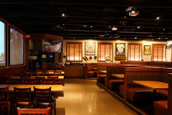Interior of Damon's