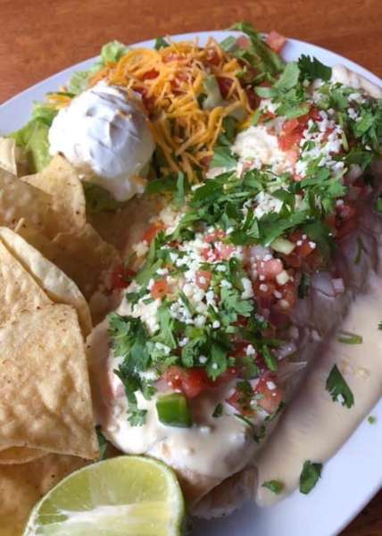 Beef Barbacoa Burrito