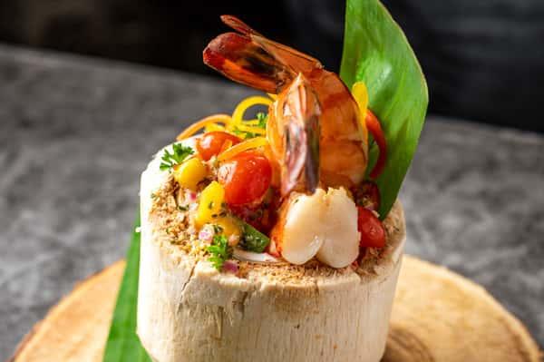 Mango Shrimp Cocktail