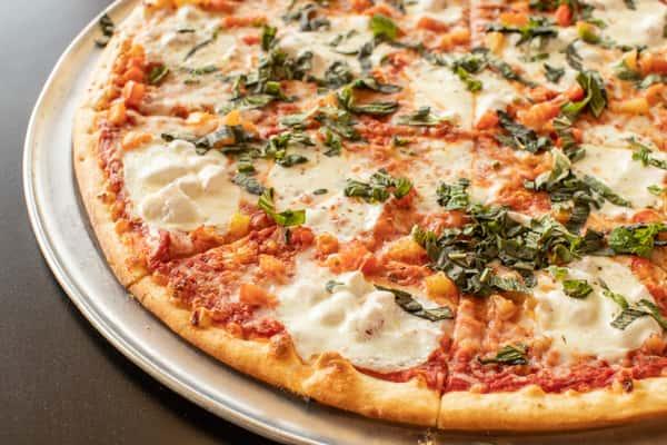 "Caprese Pizza (Luigi's Fan Favorite) 16"""