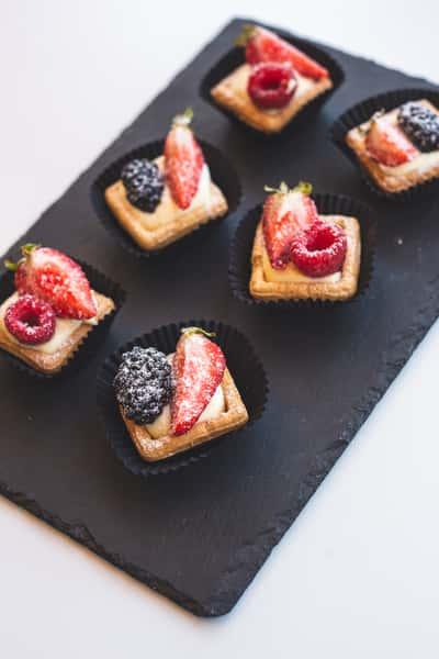 Crostatine di Frutta