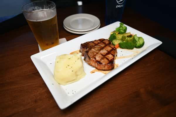 Grilled Center Cut Pork Chop
