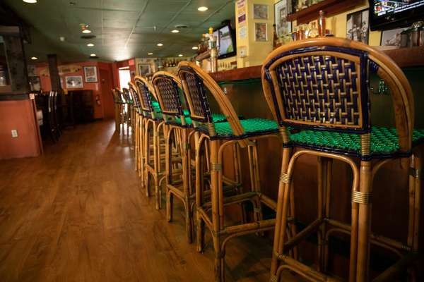 lit up bar stools