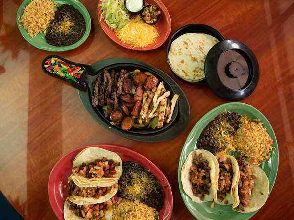 assorted mexican foods