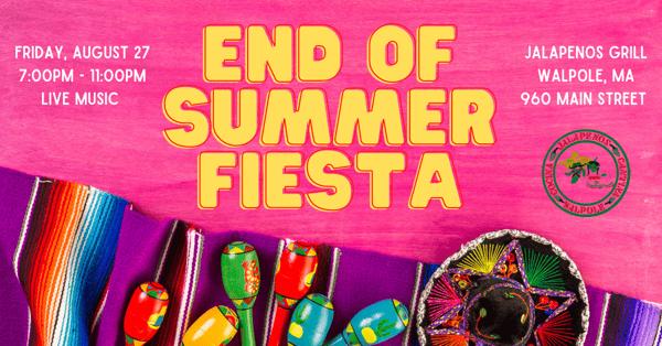 end of summer fiesta
