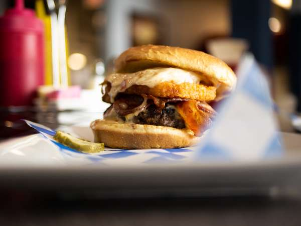 rise & shine burger