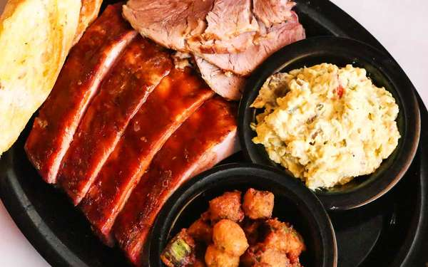St. Louis Spare Ribs Platter