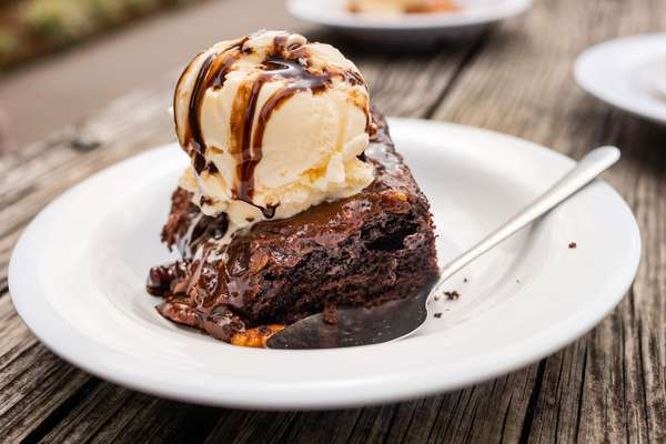 Chocolate Cake A La Mode