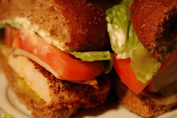 The Spring Chicken Sandwich*