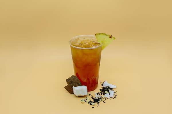 Pineapple coconut tea
