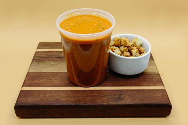 Large Container of Soup