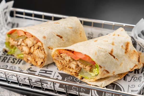 Chicken Fajitas Wrap