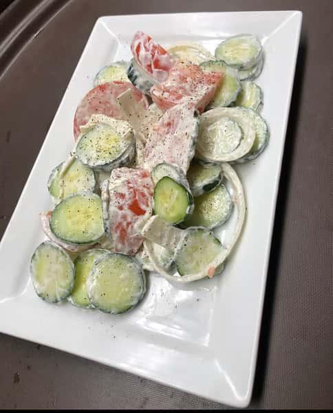 Pauline's Cucumber Salad