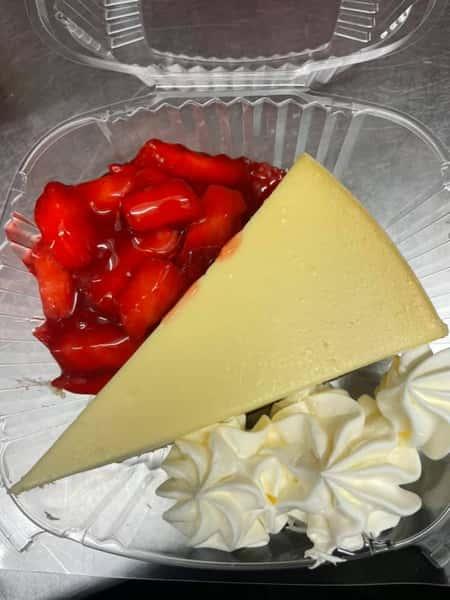 New York Style Cheesecake, Strawberries
