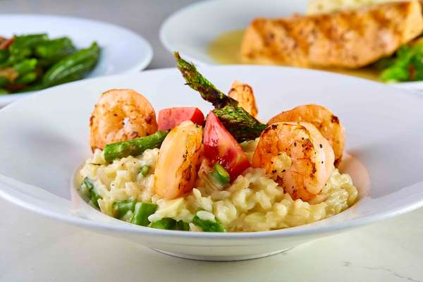Shrimp & Asparagus Risotto