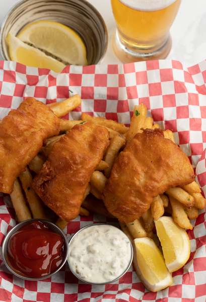 Fish and Chips-Lunch