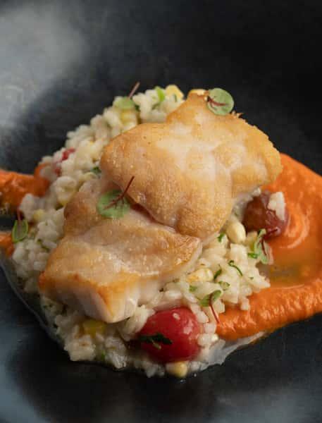 Pan Seared Grouper-Dinner