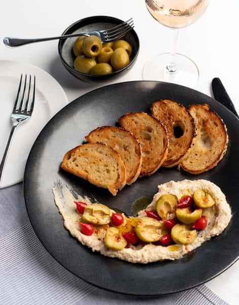 White Bean Hummus-Lunch