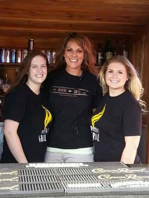 bartenders at Mystic Grill