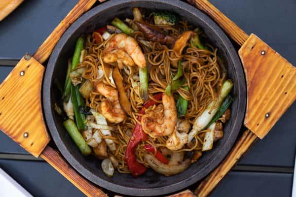 Shrimp Yaki Ramen
