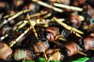BACON WRAPPED DATES PLATTERS