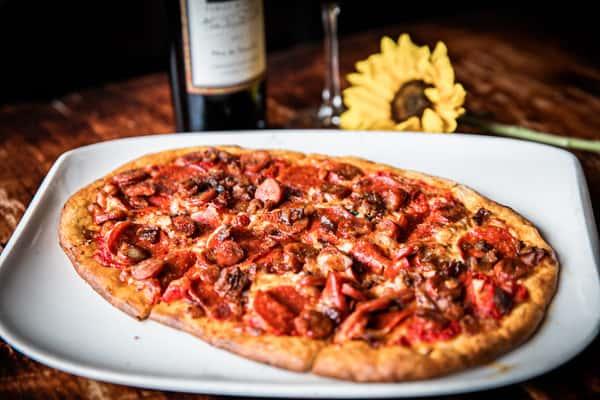 Pepperoni, Bacon & Chorizo