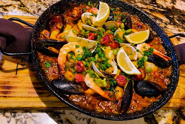 Seafood Paella For 2 | PLEASE ALLOW 20 MINUTES