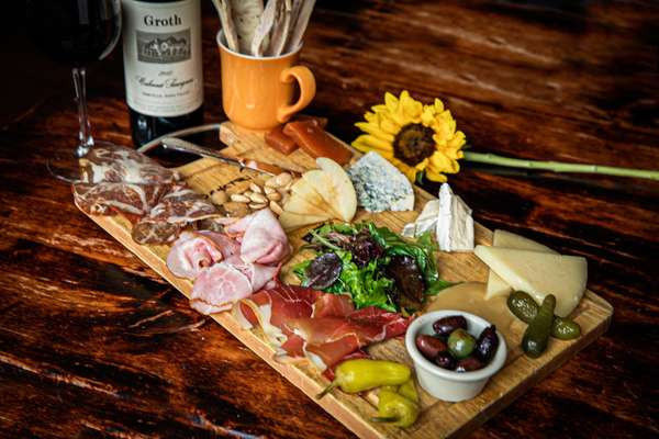 Charcuterie Cheese Plate Combo