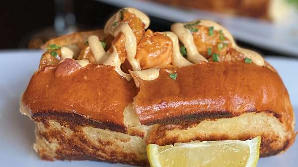 Firecracker Shrimp Po Boy Roll