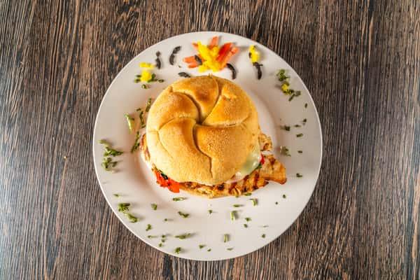 Italian Grilled Chicken Sandwich