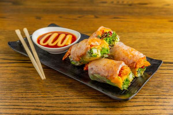 coconut shrimp rolls