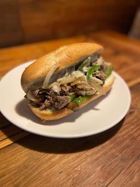 Syl's Philly Cheesesteak Sandwich