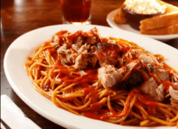 Memphis Style BBQ Spaghetti