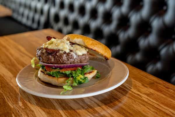 Bacon Blue Cheeseburger