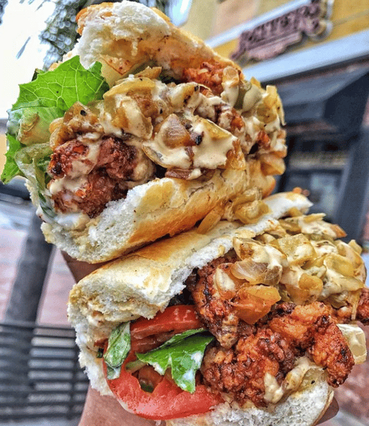 Chicken Po' Boy