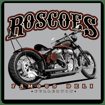 Roscoe's Fullerton Logo