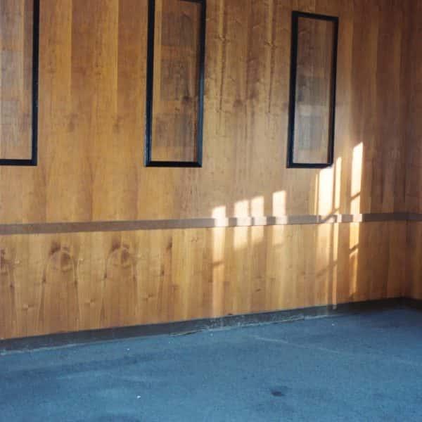 new wood paneling