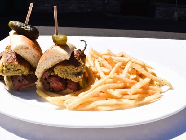 31 Club Steak Sandwich