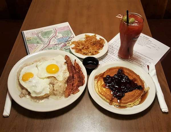 breakfast and drink
