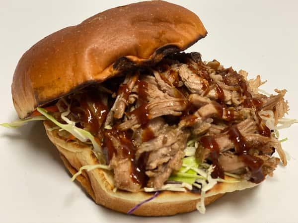 The Big-Pig Sandwich~ kalua pork w/bbq sce.