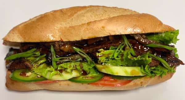 ATA's Kickin' Kalbi Sandwich